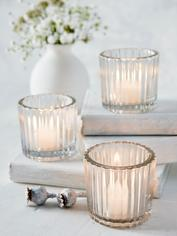 Timeless Glass Tealights