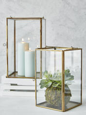 Brass Box Lanterns