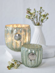 Antique Mint Tealight