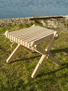 Larch Side Table/Foot Stool