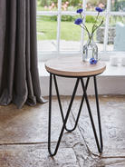 Contemporary Stool - Black