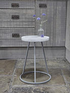 Industrial Concrete Top Stool