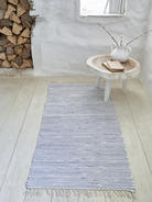 Striped Cotton Rug - 70x140cm