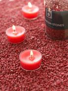 Truly Red Candle Gravel