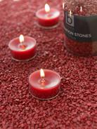 Burgundy Candle Gravel