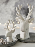 Nordic White Deer Heads