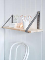 Contemporary Scandi Shelf - Grey