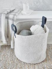 Hand-Felted Wool Basket
