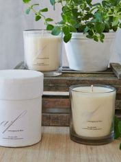Lemongrass & Mint Scented Candle