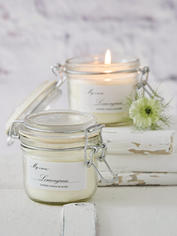 Scented Candle Jar - Lemongrass