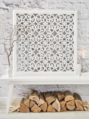 Large Carved Wall Panel - Design 2 WL