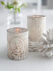 Antique Embossed Tealights