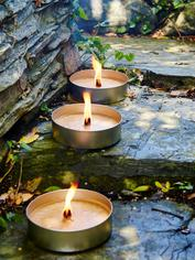 Outdoor Candle Tins - L
