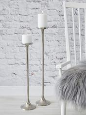 Cast Aluminium Floor Candle Holders