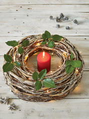 Decorative Birch Wreath