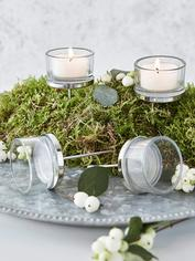 Floral Arrangement Tealight Holders