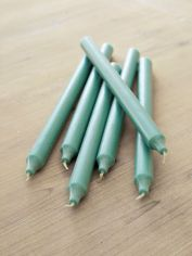 Sea Green Dinner Candles