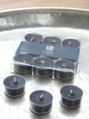 Black Clear Cup Tealights