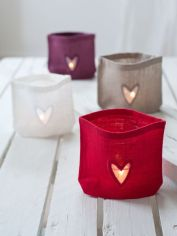 Linen Candle Bags